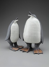 Black and white Penguins